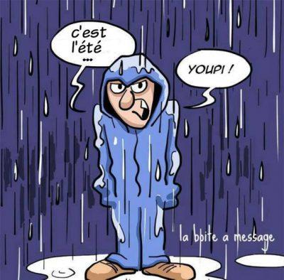 été pluvieux